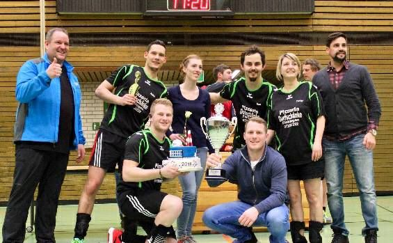 Siegerbild Volleyball 2018